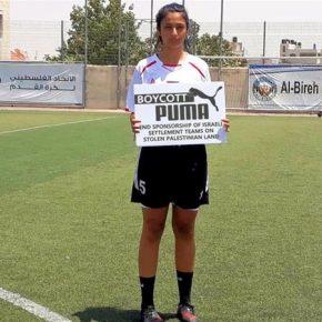 Puma continue à aider Israël à blanchir par le sport ses violations des droits de l'Homme