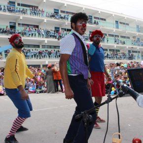 En Cisjordanie, des clowns pour rendre leur enfance aux jeunes réfugiés des camps