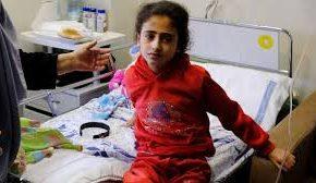 Une petite gazaoui se bat seule contre le cancer dans un hôpital de Cisjordanie. Israël ne laisse pas ses parents l'accompagner