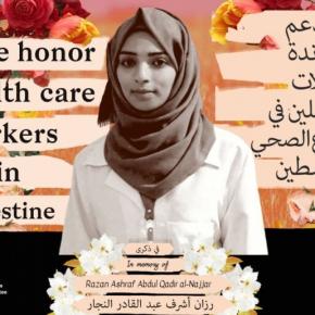 Rendez hommage à Razan al-Najjar et aux autres soignants, héros palestiniens