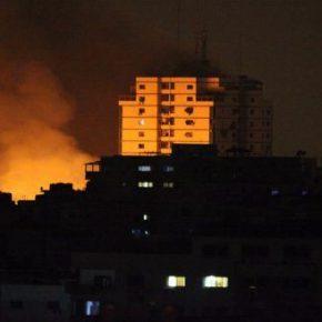 Six raids israéliens et des bombardements intensifs sur la bande de Gaza le dimanche 2 août 2020