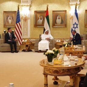 L'accord Israël-Émirats arabes unis: Une délégation américano-israélienne atterrit aux Émirats pour un somment de normalisation