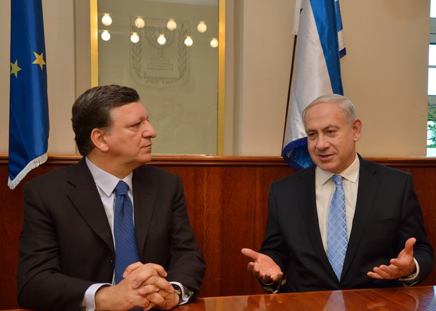 Jose Manuel Barroso makes a visit to the Middle East