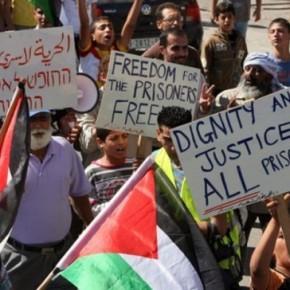 Prisonniers politiques palestiniens : quelques chiffres clés, par Julien Salingue